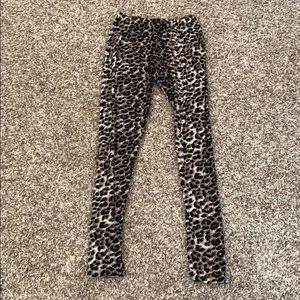 Never worn cheetah leggings!